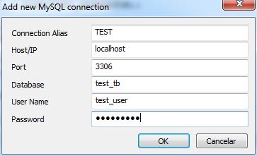 Conexión a MySQL