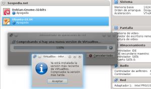 Cómo instalar o actualizar Virtualbox en Debian Wheezy