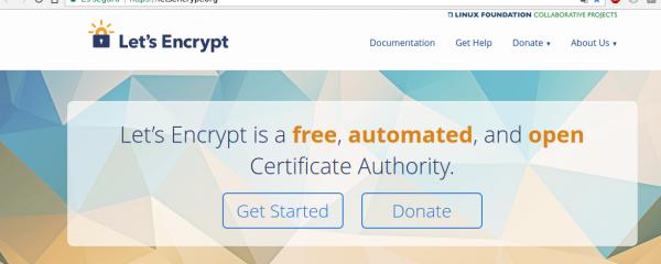Let's Encrypt Certificado SSL gratuito