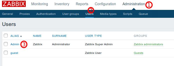 Configurar Zabbix al español